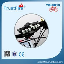TrustFire D013 brightest bike light,high light road bike frame 3200 lumens