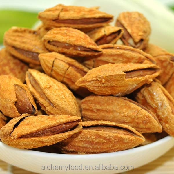 Delicious Almonds in shell with ISO, HACCP
