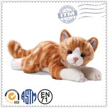 GSV ICTI Factory customized lovely new design cat soft toy