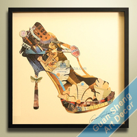 Handicraft modern art abstract and decorative oil paintings