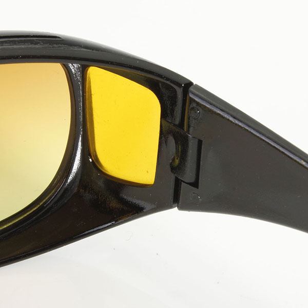 Yellow Polarized Sunglasses Night Vision Goggles mens car Driving Glasses Anti-glare Black Alloy Frame glasses Free Shipping