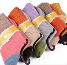 SDBING Women's Super Thick 5 Pairs Soft Comfortable Warm Women's Socks, 22-24