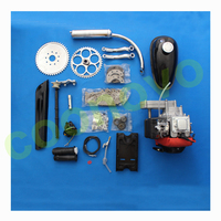 4 stroke bike engine kit for motorized bicycle/ 4 cycle 53cc engine kit