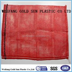 100% PP leno mesh bag/25 kg onion bag
