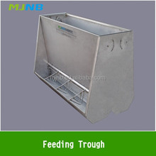 Stainless double side Feeding Trough for Pig