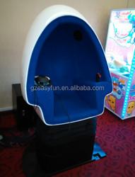 Dynamic Virtual 9D Egg Cinema VR Cinema 9D Cinema Blue Seat With Wonderful 9D Movies