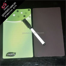 2014 Guangzhou factory newly produced magnet writing board with mark pen