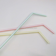hot sale hard colorful plastic drinking straws/ disposable party straws