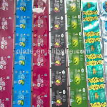 Food Packaging Films Of Self-adhesive Stickers For Custmers