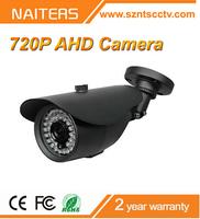 """1/4"""" 1.0 Megapixel CMOS 720P AHD IR Bullet Camera Outdoor IR Weatherproof/Waterproof CCTV Camera"""
