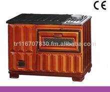 la mejor calidad de madera estufa con horno