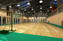 Professional Antislip Colorful Indoor Pvc Basketball Sports Flooring