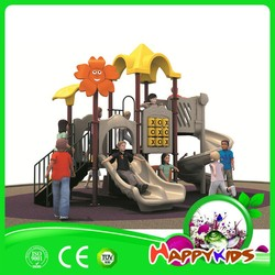 China used plastic slide for outside children outdoor playground equipment for sale