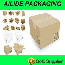 standard export empty paper carton box for packing