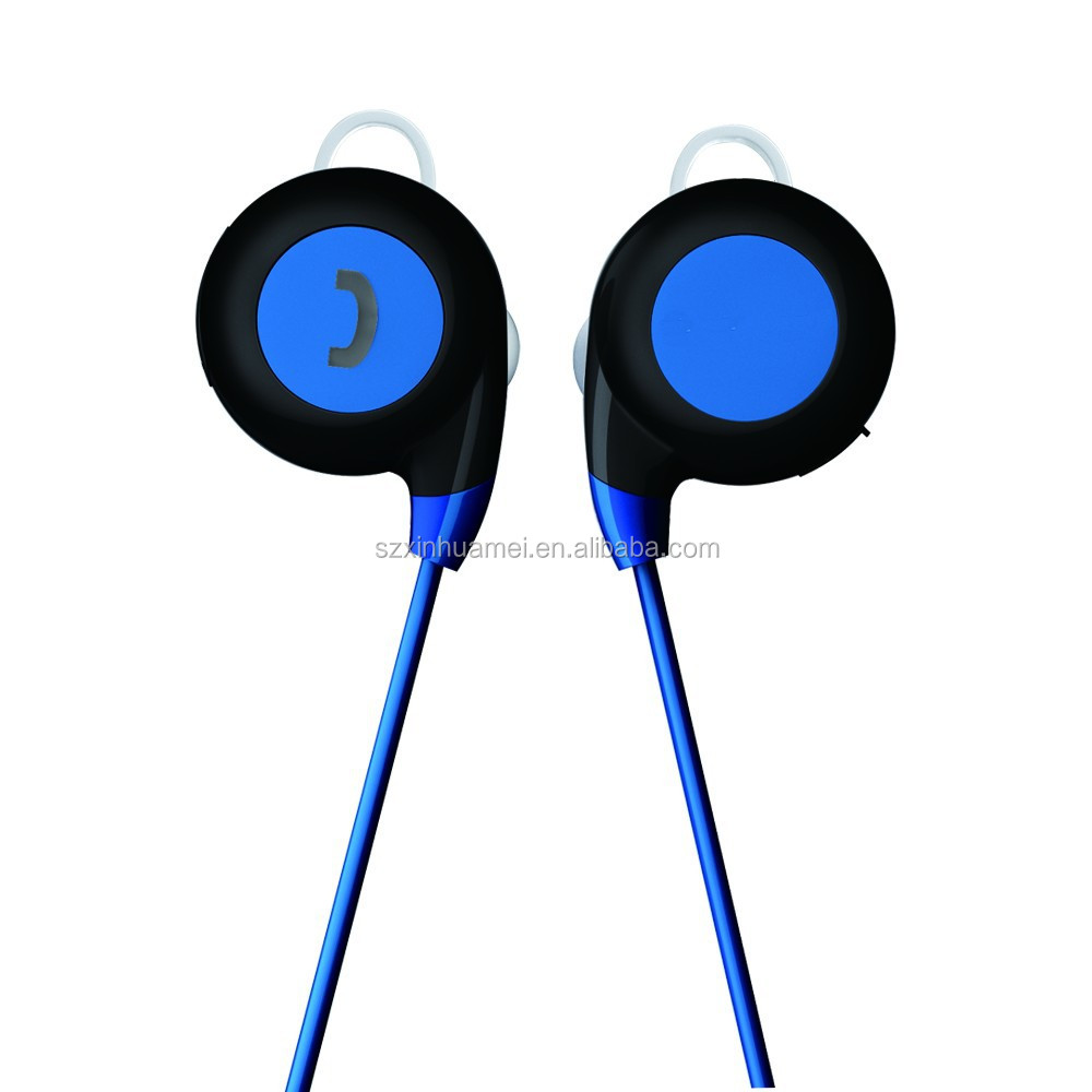 wireless bluetooth sport in ear headphones earbuds earphones sweat proof ra. Black Bedroom Furniture Sets. Home Design Ideas