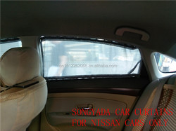 luxury privacy car window curtains for blue bird sylphy