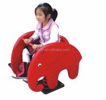CE Standard export children red elephant design outdoor rocking rider