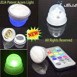 10 pack Battery Operated Fairy Pearl Berry Bottle Lights + Remote
