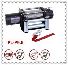 9500lbs electric winch DC 12V /24V/Low Decibel with CE certification