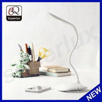Flexbible arm touch dimmer rechargeable led table lamp,led reading table lamp,led writing table lamp