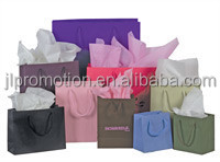 Rigid Brown Kraft Paper Gift Bag Manufacturers with Cotton Handles Design for Shopping and Made in China
