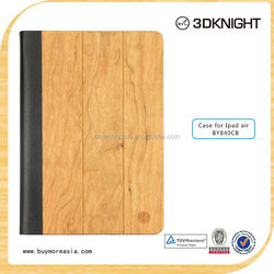 Hot wholesale good price bamboo wood case for Ipad Air
