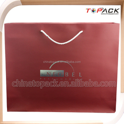 personalized shopping bags craft brown paper bag wholesale