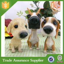 China Wholesale Manufacturers Resin Dog Statues for Decor
