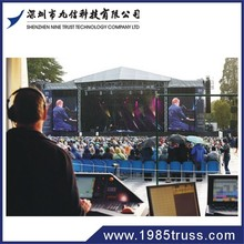 Nine Trust supplier of Aluminum truss for exhibition system booth