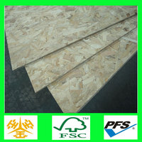China supplier 6/9/12/15/18mm wooden furniture grade osb building construction material