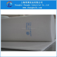 medium filtration grade synthetic fiber F5 air filter media, eu5 ceiling filter