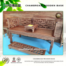 antique solid wooden dragon couch Chinese style