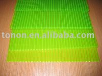 foshan tonon polycarbonate panel manufacturer yellow double layer policarbonato sheet made in China