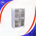 2014 venda quente!!! Comercial de equipamentos fabricados na china em pé livre açoinoxidável armário de cozinha