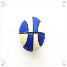 2015 new style Wholesale cute colourful rubber basketball