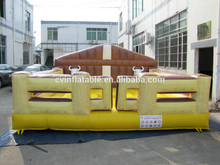 Inflable mechanical bull rodeo juegos, inflable mechanical bull, inflable deporte competitivo del juego