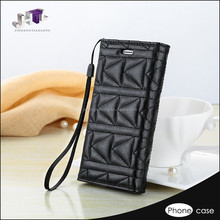 genuine leather pass flip cover case for iphone