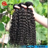 top quality double weft can be dyed wholesale raw cheap machine to curly hair