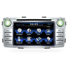 Car Radio Auto Audio Stereo Multimedia DVD Player GPS Navigation for Toyota Hilux 2012