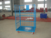 hot selling powder coated roll cage,roll container,roll tainer