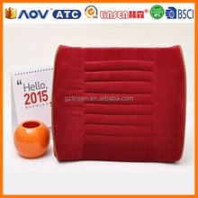 Guangzhou Linsen brand,auto back cushion with horizontal slots,coccyx cushion