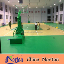 basketball courts pvc vinyl floor/plastic sports flooring type NTF-PS096B