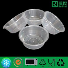 Microwave Round Carry out Food Container/Takeaway Food Plastic Bowl 625ml