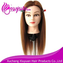 Xuchang hot selling online top quality cheap hairdresser mannequin head