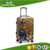 Trolley bag travel suitcase luggage bag with fixed rolling carters