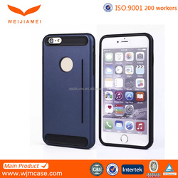 hybrid funky mobile phone case for iphone 6 factory in shenzhen