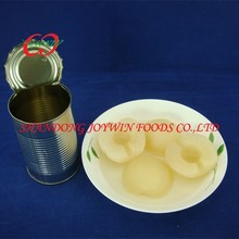 China Cheap price canned pear halves in light syrup
