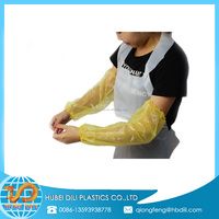 protective sleeves for arms/clear plastic protective sleeve/plastic shower sleeves