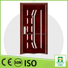 Made in China Cheap Apartment Front Entry Steel Doors For Sale