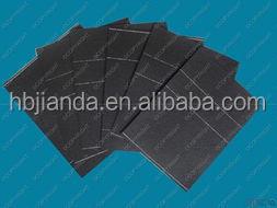 Asphalt-saturated organic roofing felt and asphalt shingles for sale
